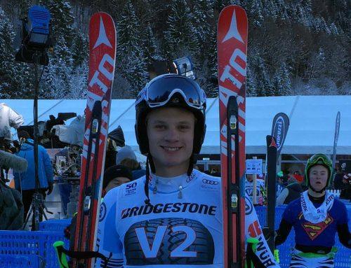 Roman Frost: Start als Vorläufer im Weltcup auf der Kandahar