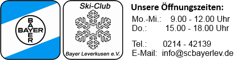 Ski-Club Bayer e.V. Leverkusen Logo