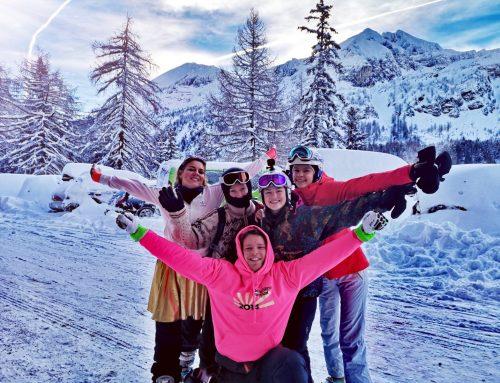 Neujahr Obertauern im 80er Look