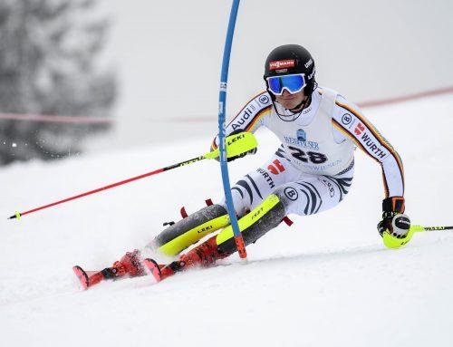 4. Platz in der Deutschen Jugendmeisterschaft Slalom