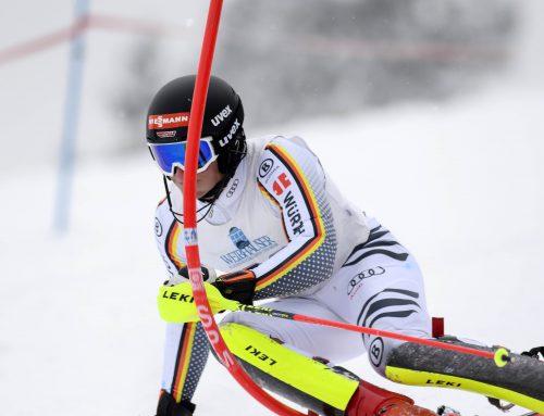 Roman Frostgewinnt den FIS Slalom in Lenggries