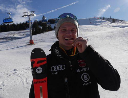 Roman Frost: Bronze bei der Deutschen Jugendmeisterschaft Slalom