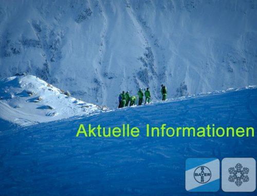Informationen des Vorstandes