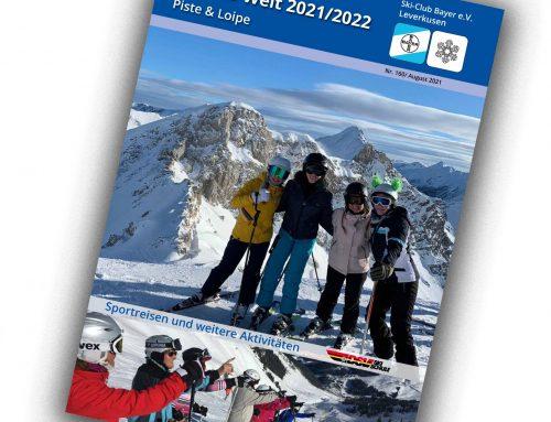 Bereits online: Fahrtenheft 2021 / 2022