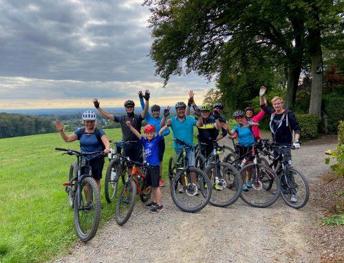 Viel Spaß bei unserer Mountain-Bike Tour im Bergischen